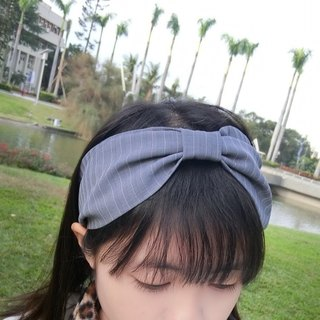 Adjustable butterfly wide hairband with hairband*SK*