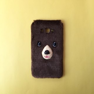 BEAR BROWN PHONE CASE