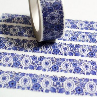 Masking Tape Blue Morning Glory