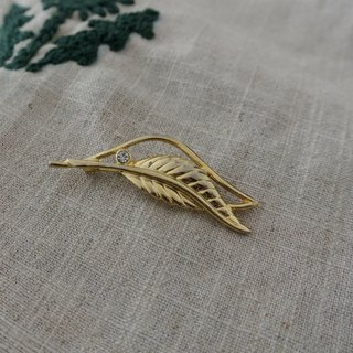 Antique jewelry brooch