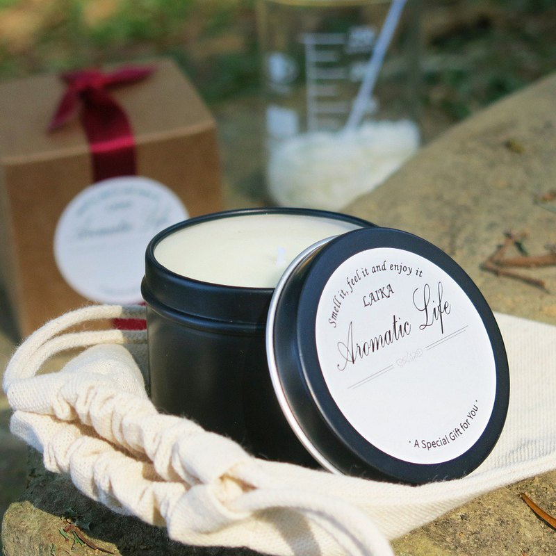 Material Pack-Single Essential Oil & Soy Wax Essential Oil Candle DIY Gift