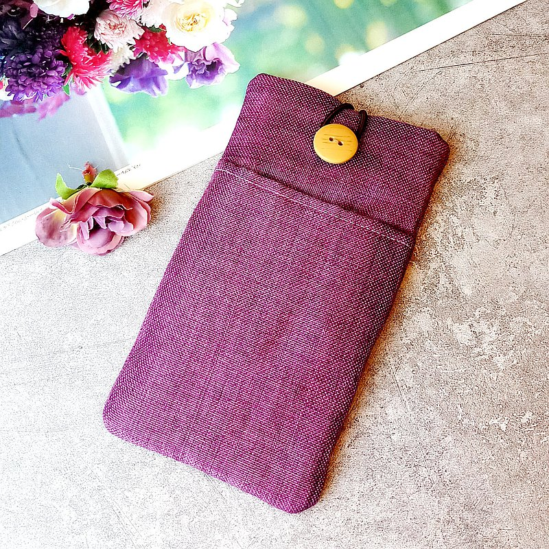 Customized phone bag, mobile phone bag, mobile phone protective cloth cover such as iPhone Samsung (P-246)