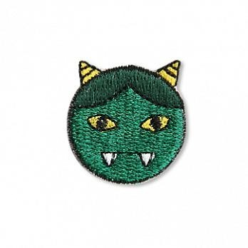 [Jingdong all KYO-TO-TO] and the sheet (ワ ッ pe nn) _ green _ Ghost embroideries