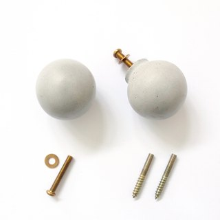 FENEN - Handcrafted concrete knob / hook – Sphere
