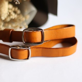 [艸一田人] manual contrast color strap camera strap