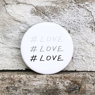# LOVE / Medium badge