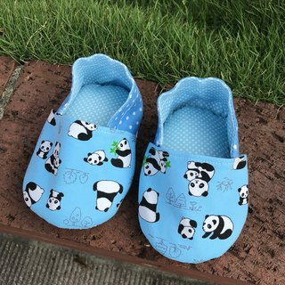 Panda - Blue - toddler shoes