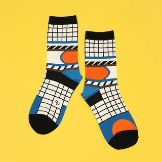 Silo White Unisex Crew Socks | mens socks | womens socks | comfortable socks