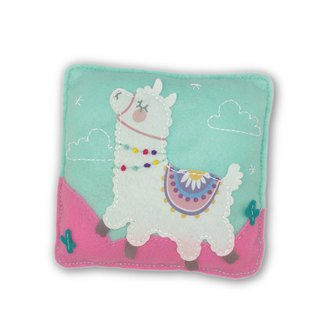Fairy Land [Material Pack] Alpaca Pillow - White