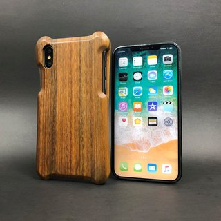 iPhone X wood shell _ green sandalwood