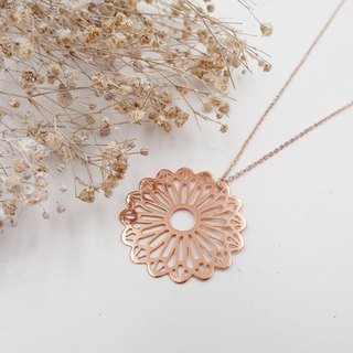 Lolita IRIS hand-made copper plating workshop ✦ Link ✦ ✦ ✦ rose gold necklace / long chain / long chain / sweater chain