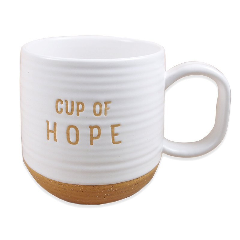 Hope [Hallmark-text gift pull broken mug]