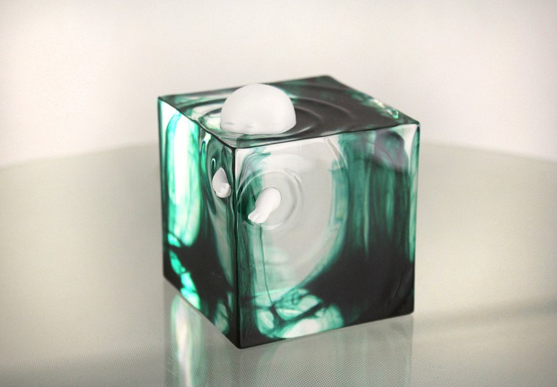 KONETA cube series - Forest Drop