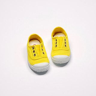 Spanish national canvas shoes CIENTA children's shoes size fresh yellow fragrant shoes 70997 70
