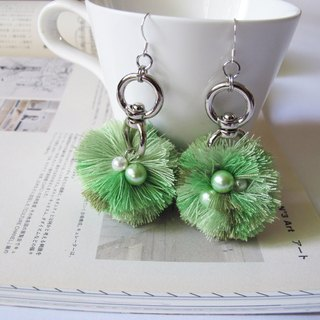 mint neiff-summer firework ring hairpin clip-on / wear
