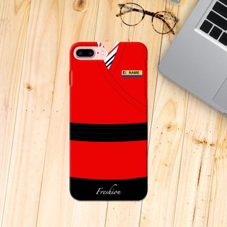 Air Macau Airlines Air Hostess Fight Purser Red iPhone Samsung Case