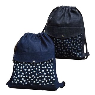 【Is Marvel】Cowboy luminous star bunched bag