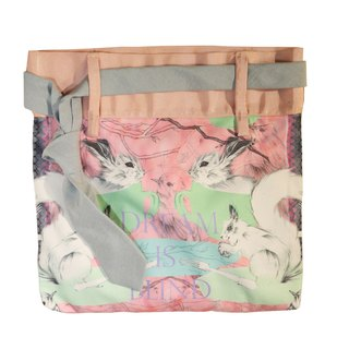 Hong Kong Designer Brand BLIND by JW Squirrel Print Handbag (Woodland)