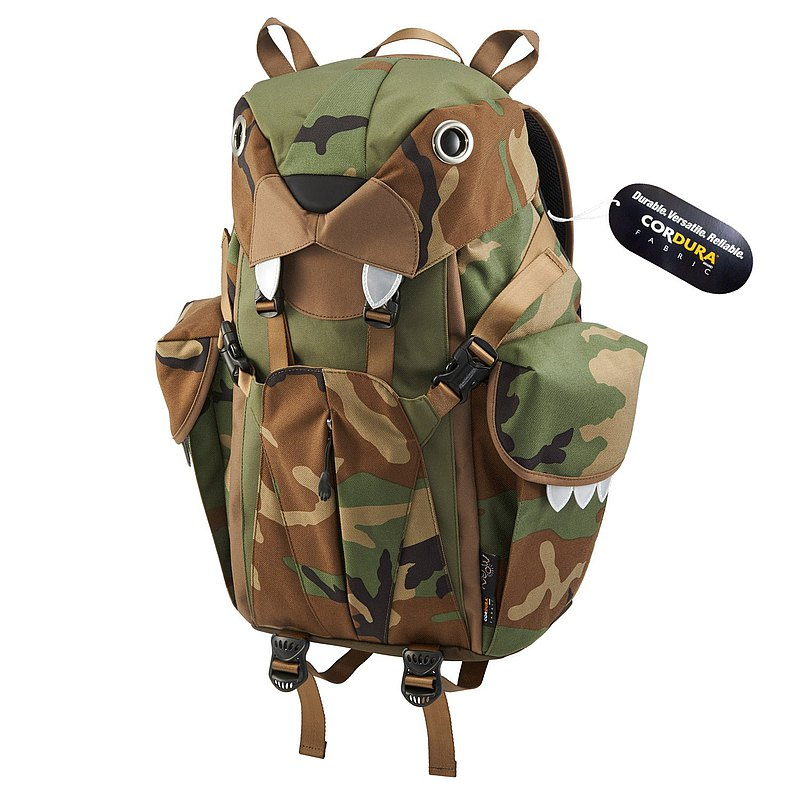 Morn Creations Genuine Cute Tiger Backpack-Camouflage (L) (BC-301-CA)
