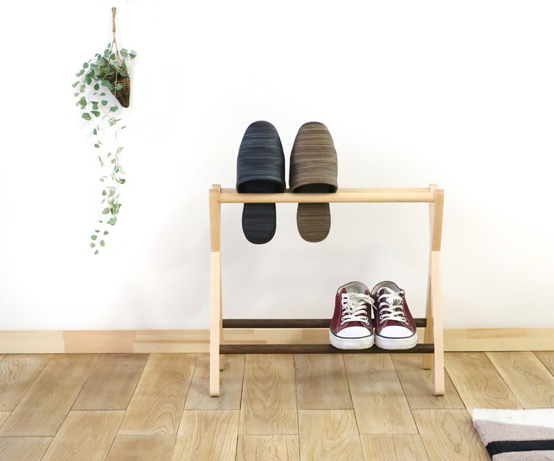 Asahikawa Craft cosine slippers & shoe rack