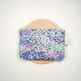 [Monet] Coin Purse Clutch Bag with Zipper Bag Christmas Exchange Gift