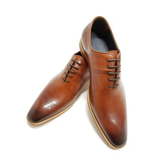 Kings Collection Rodrigo Oxford Shoes KV80084 สีน้ำตาล