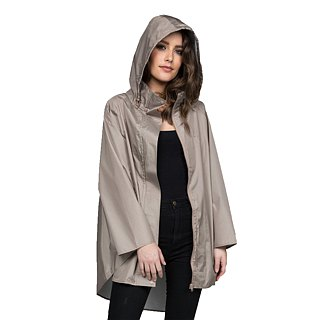 November Rain waterproof poncho - Sandstorm