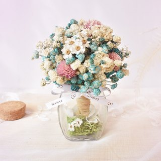 WANYI Gypsophila Dream Tree Micro-planting Small Potted Desk Decoration