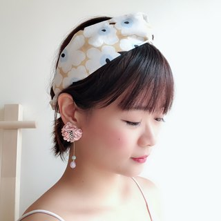 Earl milk tea Elastic hair band