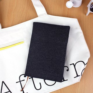 A6/50K adjustable denim book / multi-function book cover