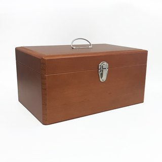 Kurashiki intentional plan room portable wooden props [large (17098-03)] (flaw specials) emergency box storage box