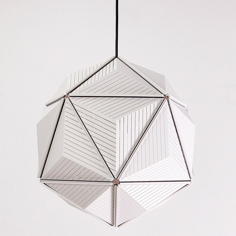 QUALY Triangle Geometry - Shade (White)