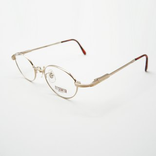 Monroe Optical Shop / Japanese 90's antique small round glasses frame no.A32 vintage