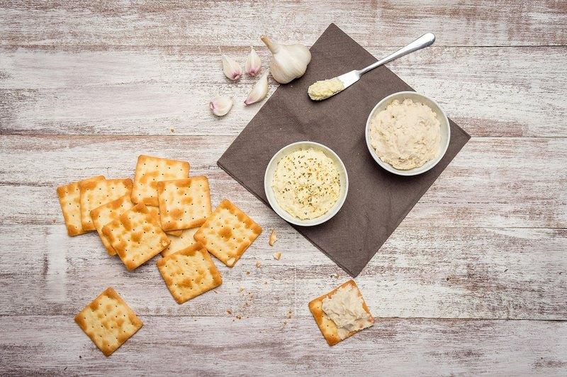 香蒜乳酪抹醬 Garlic Cheese Spread 手工製作