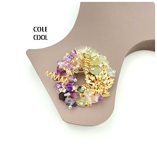 Exquisite - Japanese Style Brooch【Harvest Grapes】【Gift】 【Wedding】【Brooch】
