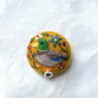 brooch of mallard