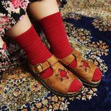 Tsubasa.Y 古著屋 A02咖啡色圓環馬汀涼鞋, Dr.Martens England
