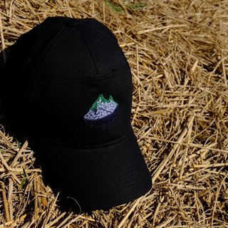 Green island embroidery baseball cap night darkness of the island