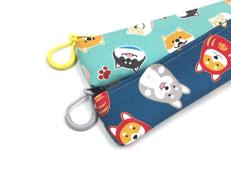 | •R• | New | Zippered Eco Bag Set | Shiba Inu Style | Two styles to choose