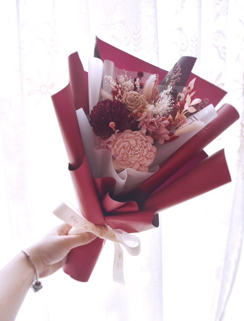 [Our.Little_Space] Dry flower bouquet / gift / custom