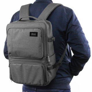 After simple multi-gray SLR Noland Misty Grey Backpacks / laptop backpack
