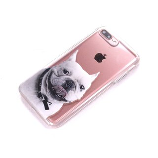 Graduation gift law dog dog mobile phone case iPhone 8 Plus R9s X9 S7edge S8 J3 XZ
