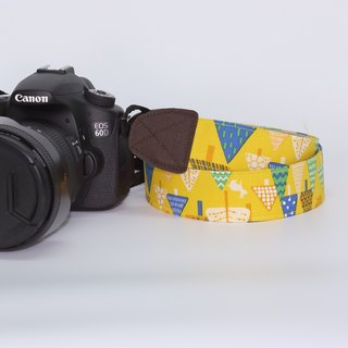 Pu.sozo hand made forest walking camera strap / camera rope / single-eye / single / double strap hole camera