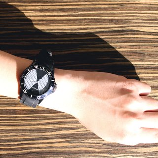 【PICONO】POP Circus Sport Watch - Lucky Fish(Black) / BA-PP-11