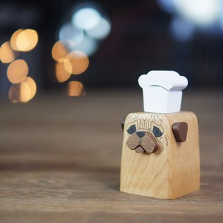 Faithful Dog designed Cruet -PUG