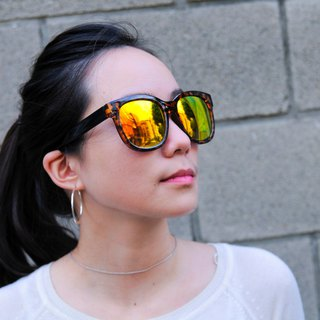 Sunglasses Polarized│Orange Lens│UV400 Protection│2i's GingerO