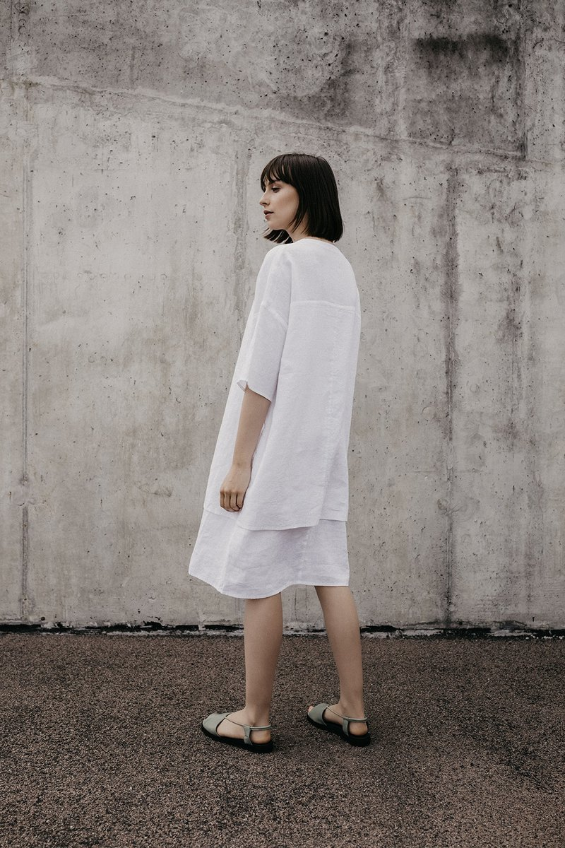 Linen Dress Motumo – 18S6