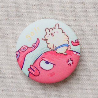 Sheep horse riding chapter knight sheep horse matte face badge badge