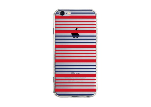 Between red and black stripe - Samsung S5 S6 S7 note4 note5 iPhone 5 5s 6 6s 6 plus 7 7 plus ASUS HTC m9 Sony LG G4 G5 v10 phone shell mobile phone sets phone shell phone case