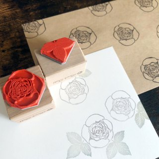 Old rose stamp set